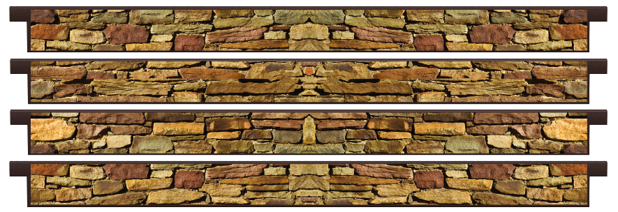 Planks > Straight Plank x 4 > Cotswold Stone