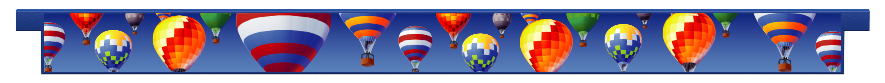 Planks > Straight Plank > Hot Air Balloons