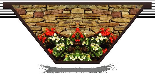 Fillers > V Filler > Flowerbed Wall