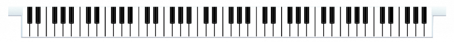 Planks > Straight Plank > Piano Keys