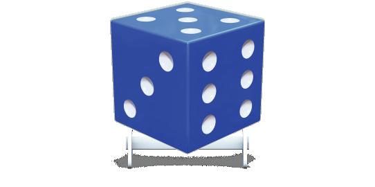 Fillers > Cube Filler > Dice