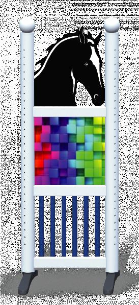 Wing > Combi Horse Head > Rainbow Cubes