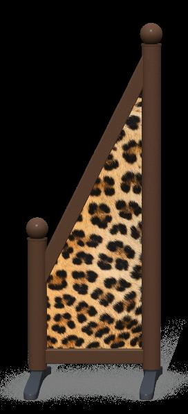 Wing > Sloping Printed > Leopard Skin