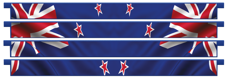 Planks > Straight Plank x 4 > New Zealand Flag