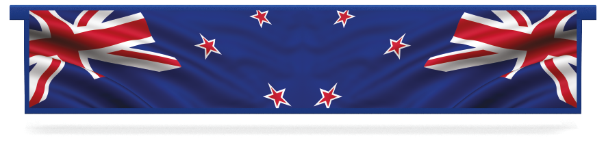 Fillers > Hanging Solid Filler > New Zealand Flag