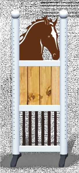 Wing > Combi Horse Head > Light Wood