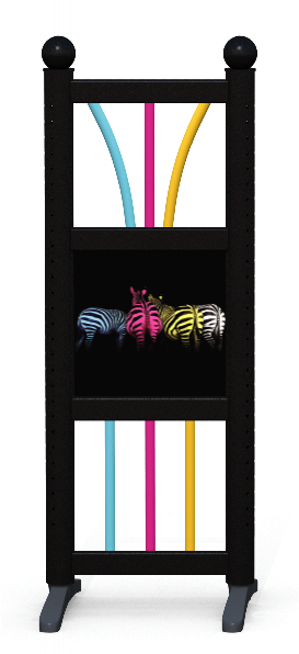 Wing > Combi D > Colourful Zebras
