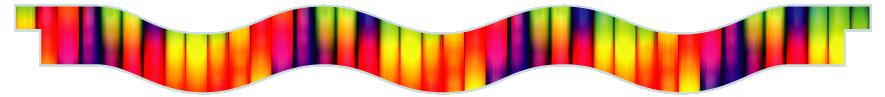 Planks > Wavy Plank > Rainbow Tubes