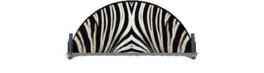 Fillers > Half Round Filler > Zebra Skin