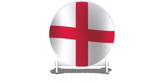 Fillers > Round Filler > St Georges Flag