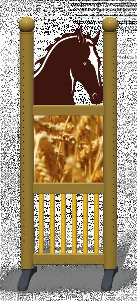 Wing > Combi Horse Head > Wheat Field