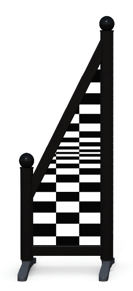 Wing > Sloping Printed > Chequered