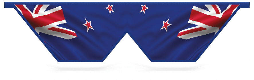 Fillers > Double V Filler > New Zealand Flag
