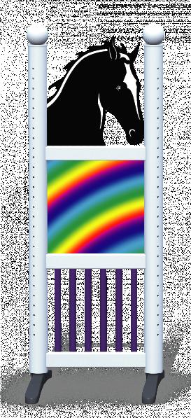 Wing > Combi Horse Head > Rainbow