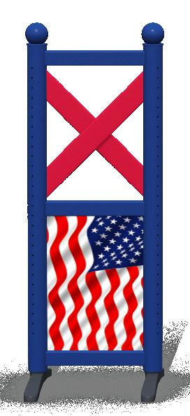 Wing > Combi F > American Flag
