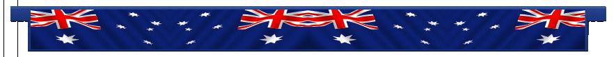 Planks > Straight Plank > Australian Flag