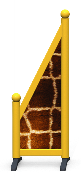 Wing > Sloping Printed > Giraffe Skin
