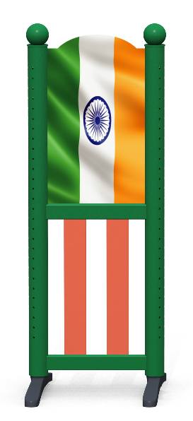 Wing > Combi L > Indian Flag