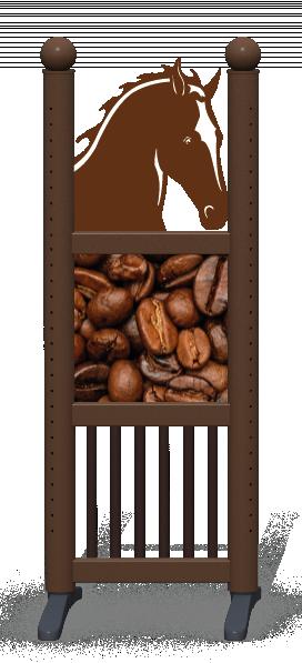 Wing > Combi Horse Head > Coffee