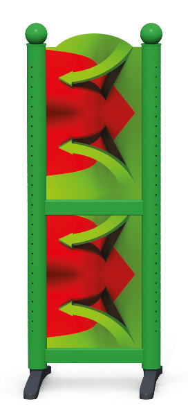 Wing > Combi H > 3D Arrows