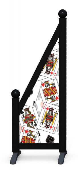 Wing > Sloping Printed > Playing Cards