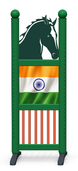 Wing > Combi Horse Head > Indian Flag