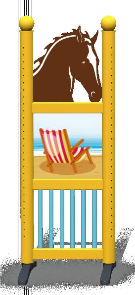 Wing > Combi Horse Head > Beach