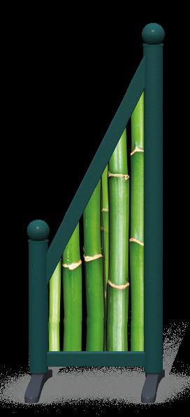 Wing > Sloping Printed > Bamboo