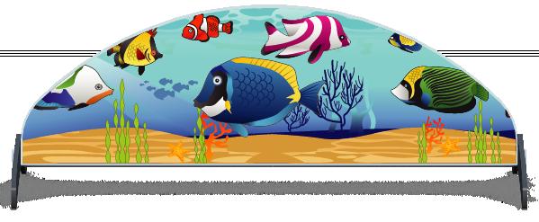 Fillers > Half Moon Filler > Tropical Fish