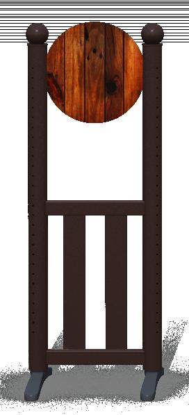 Wing > Combi Round > Dark Wood