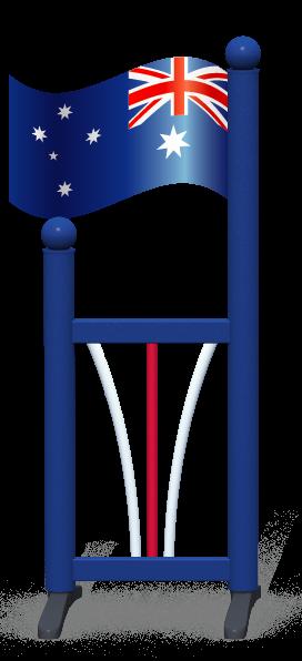 Wing > Flag > Australian