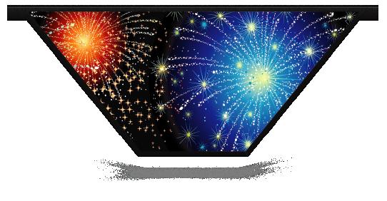 Fillers > V Filler > Fireworks