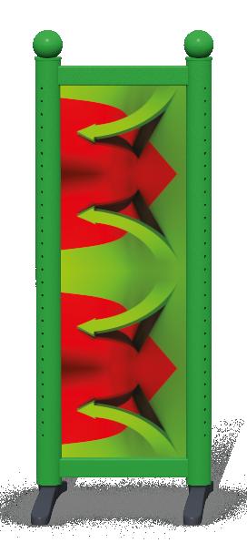 Wing > Combi N > 3D Arrows