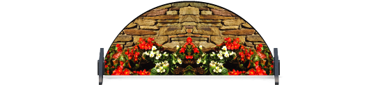 Fillers > Half Round Filler > Flowerbed Wall