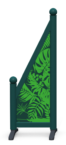 Wing > Sloping Printed > Jungle