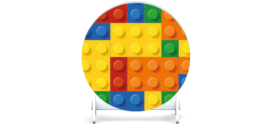Fillers > Round Filler > Toy Bricks