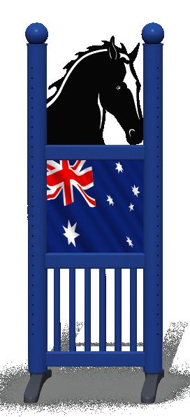 Wing > Combi Horse Head > Australian Flag
