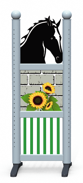 Wing > Combi Horse Head > Sunflowers