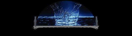 Fillers > Half Round Filler > Splash