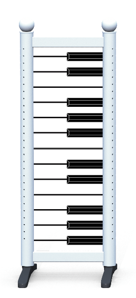 Wing > Combi N > Piano Keys