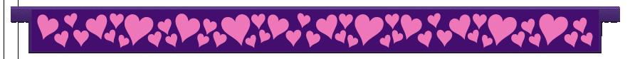 Planks > Straight Plank > Hearts