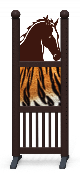 Wing > Combi Horse Head > Tiger Skin
