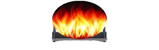 Fillers > Oval Filler > Fire