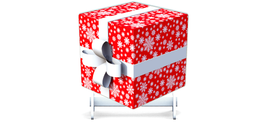 Fillers > Cube Filler > Christmas Gift