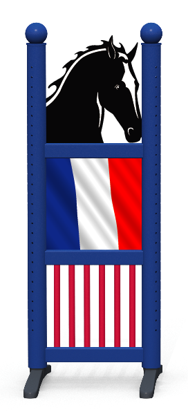 Wing > Combi Horse Head > French Flag