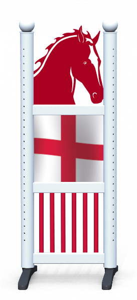 Wing > Combi Horse Head > St Georges Flag