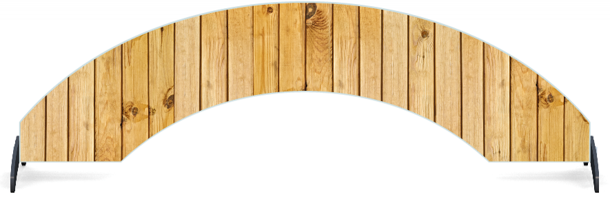 Fillers > Arch Filler > Light Wood