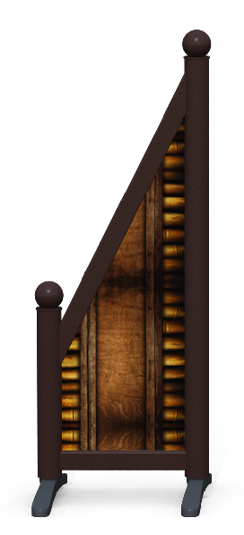 Wing > Sloping Printed > Bamboo Frame