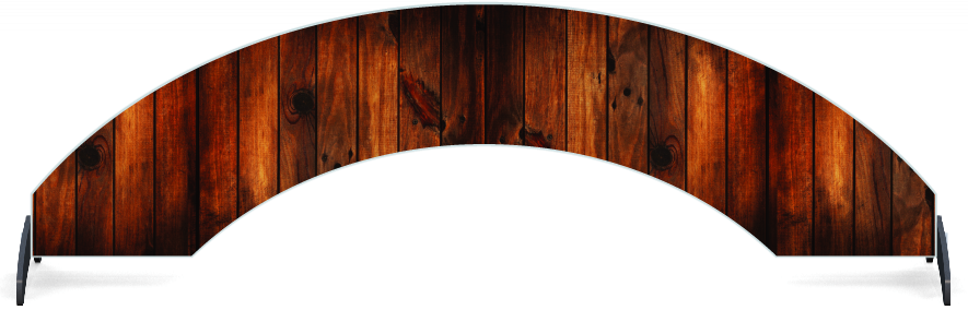 Fillers > Arch Filler > Dark Wood