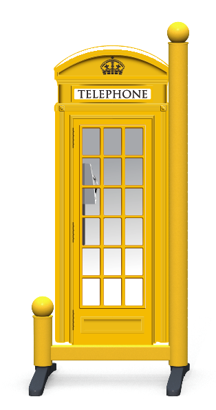 Wing > Phone Box > Yellow Telephone Box